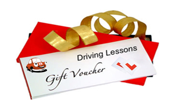 driving lessons gift voucher